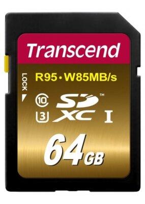 Карта пам'яті Transcend SDXC 64GB Class 10 UHS-I U3 Ultimate 1