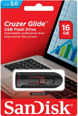 USB flash накопитель SanDisk Cruzer Glide 16GB USB 3.0 4