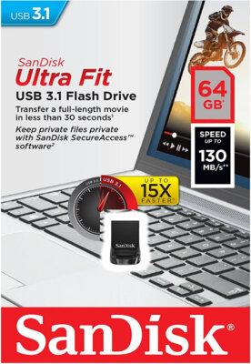 USB flash накопичувач SanDisk Ultra Fit USB 3.1 64GB 6