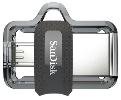 USB flash накопитель SanDisk Ultra Dual OTG USB 3.0 16GB Black 4