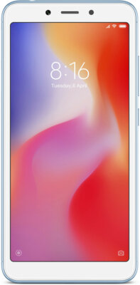 Смартфон Xiaomi Redmi 6A 2/32GB Blue 1