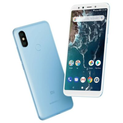 Смартфон Xiaomi Mi A2 4/64 Blue 12