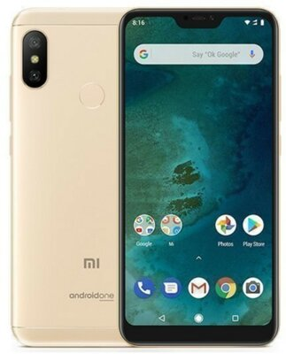 Смартфон Xiaomi Mi A2 Lite 3/32GB Gold 3