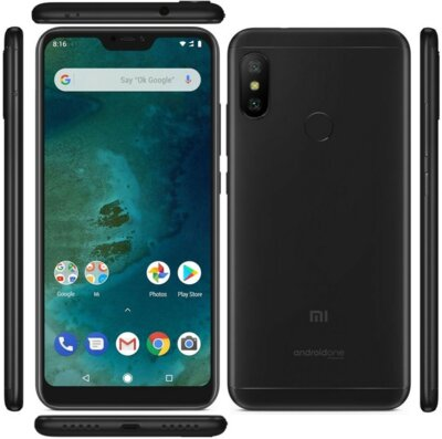Смартфон Xiaomi Mi A2 Lite 4/64GB Black 8