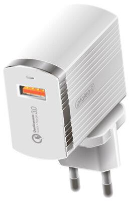 Зарядний пристрій Intaleo TCQ431 (1USB3A) White 1