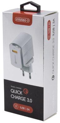 Зарядний пристрій Intaleo TCQ431 (1USB3A) White 3