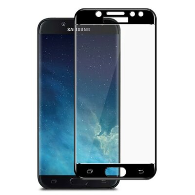 Захисне скло Global TG Full для Samsung Galaxy J4 J400 Black 1