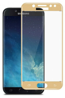 Захисне скло Global TG Full для Samsung Galaxy J4 J400 Gold 1