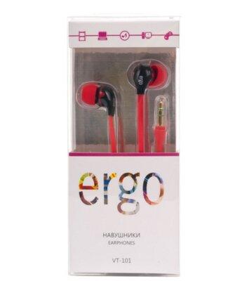 Наушники ERGO VT-101 Red 2