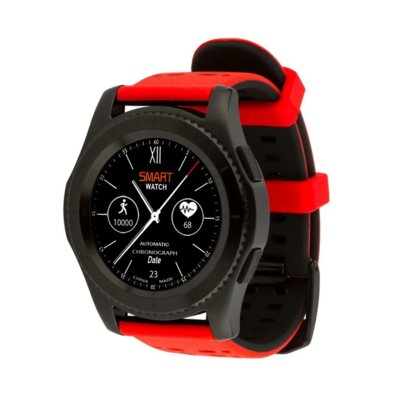 Умные часы ATRIX Smart watch X4 GPS PRO black-red 4