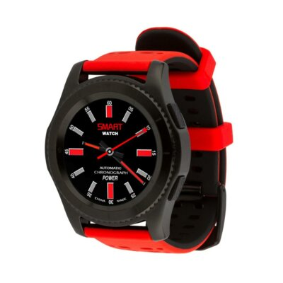 Умные часы ATRIX Smart watch X4 GPS PRO black-red 5