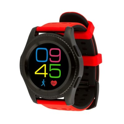 Умные часы ATRIX Smart watch X4 GPS PRO black-red 6