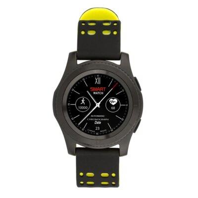 Умные часы ATRIX Smart watch X4 GPS PRO black-yellow 1