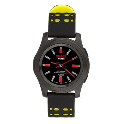 Умные часы ATRIX Smart watch X4 GPS PRO black-yellow 2