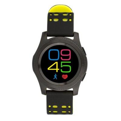 Умные часы ATRIX Smart watch X4 GPS PRO black-yellow 3