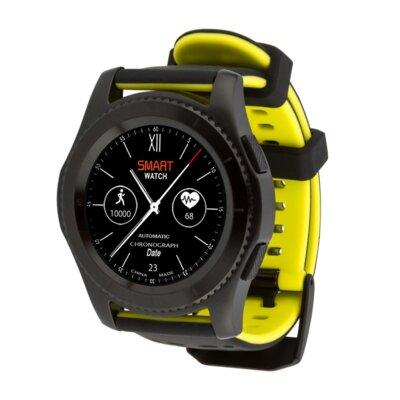 Умные часы ATRIX Smart watch X4 GPS PRO black-yellow 4