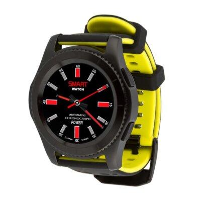 Умные часы ATRIX Smart watch X4 GPS PRO black-yellow 5