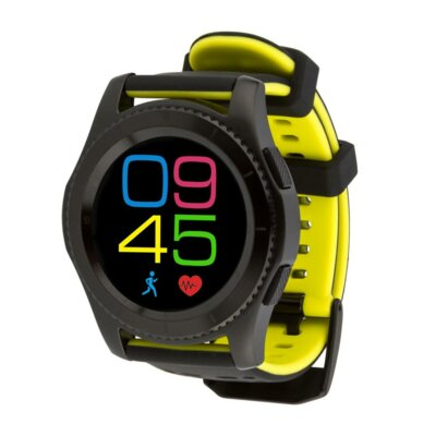 Умные часы ATRIX Smart watch X4 GPS PRO black-yellow 6