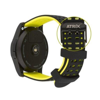 Умные часы ATRIX Smart watch X4 GPS PRO black-yellow 8
