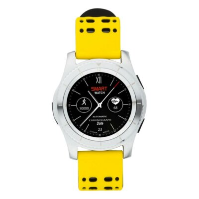 Умные часы ATRIX Smart watch X4 GPS PRO silver-yellow 1