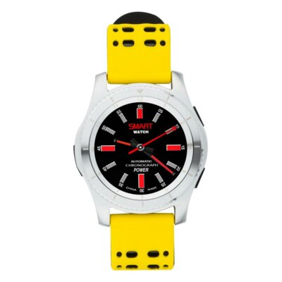 Умные часы ATRIX Smart watch X4 GPS PRO silver-yellow 2