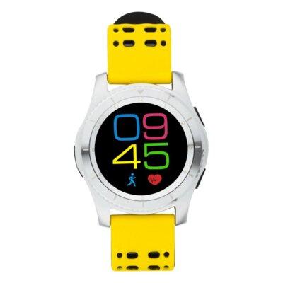 Умные часы ATRIX Smart watch X4 GPS PRO silver-yellow 3