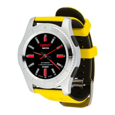 Умные часы ATRIX Smart watch X4 GPS PRO silver-yellow 5