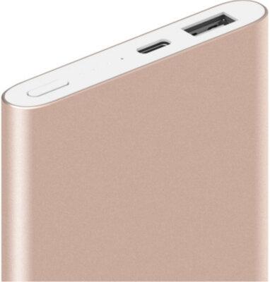 Мобільна батарея Xiaomi Mi Pro 10000mAh VXN4195US Gold 2