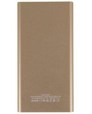 Мобильная батарея Nomi E050 5000 mAh Gold 2