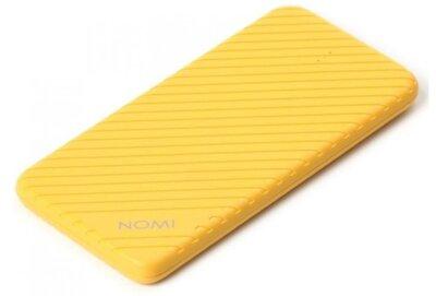 Мобильная батарея Nomi F050 5000 mAh Yellow 1
