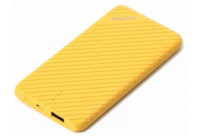 Мобильная батарея Nomi F050 5000 mAh Yellow 2