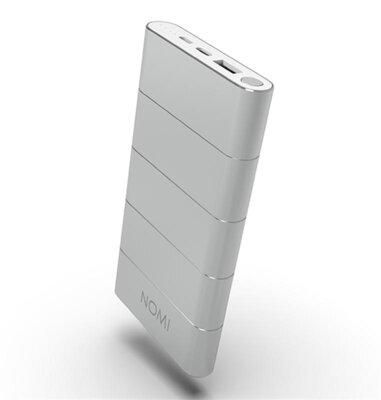 Мобильная батарея Nomi Q100 10000 mAh QC3.0 Silver 2