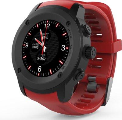 Смарт-часы NOMI W30 Black-Red 1