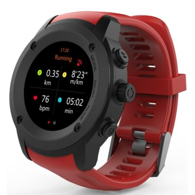 Смарт-часы NOMI W30 Black-Red 3
