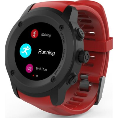 Смарт-часы NOMI W30 Black-Red 4
