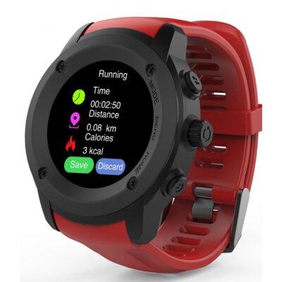 Смарт-часы NOMI W30 Black-Red 5