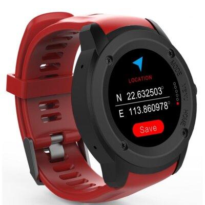Смарт-часы NOMI W30 Black-Red 6