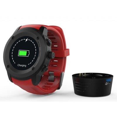 Смарт-часы NOMI W30 Black-Red 8