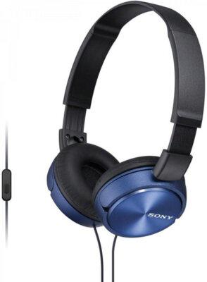 Наушники SONY MDR-ZX310AP Blue 2