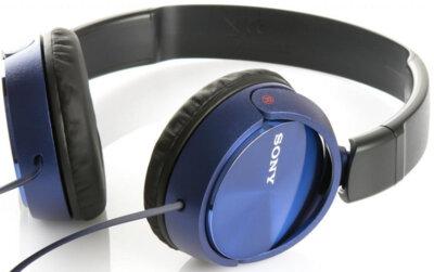 Наушники SONY MDR-ZX310AP Blue 6