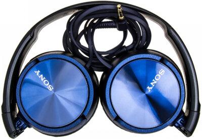 Наушники SONY MDR-ZX310AP Blue 10