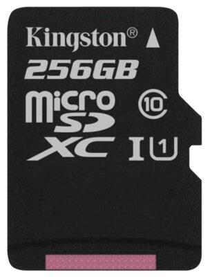Карта пам'ятi KINGSTON microSDXC 256Gb Canvas Select U1 (R80/W10)+ad 2