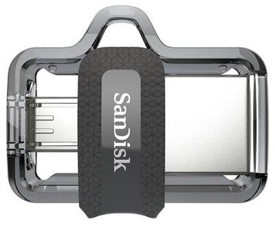 USB flash накопитель SanDisk Ultra Dual OTG USB 3.0 128GB Black 4