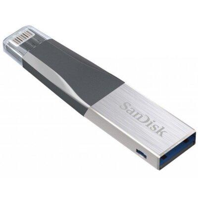 USB flash накопитель SANDISK iXpand Mini 64 Gb USB 3.0/Lightning for Apple 3