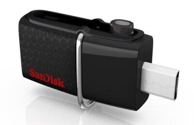 USB flash накопитель SANDISK Ultra Dual 16 Gb OTG USB 3.0 Black 2