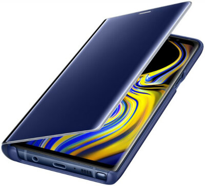 Чохол Samsung Clear View Standing Cover Blue для Galaxy Note 9 N960 4