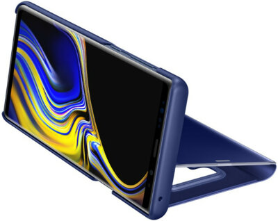 Чохол Samsung Clear View Standing Cover Blue для Galaxy Note 9 N960 7