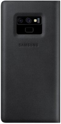Чехол Samsung Leather Wallet Cover Black для Galaxy Note 9 N960 2