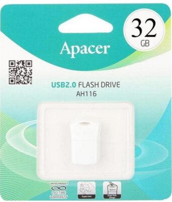 Накопичувач APACER AH116 32GB White 3