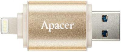 Накопитель APACER AH190 32GB Lightning Dual USB 3.1 Gold 4